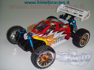 Buggy Himoto 1:16 Rtr 4wd brushless elettrico Off Road Buggy